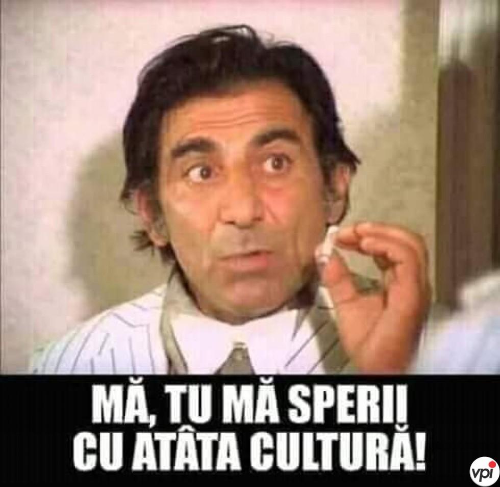 Prea multă cultură