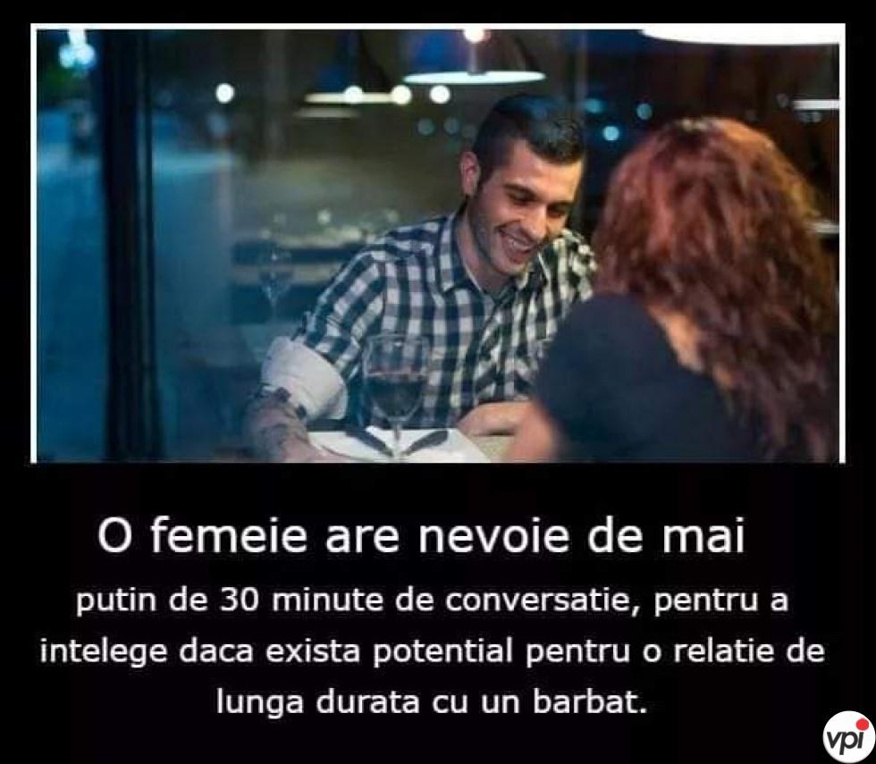 Conversația cu un bărbat