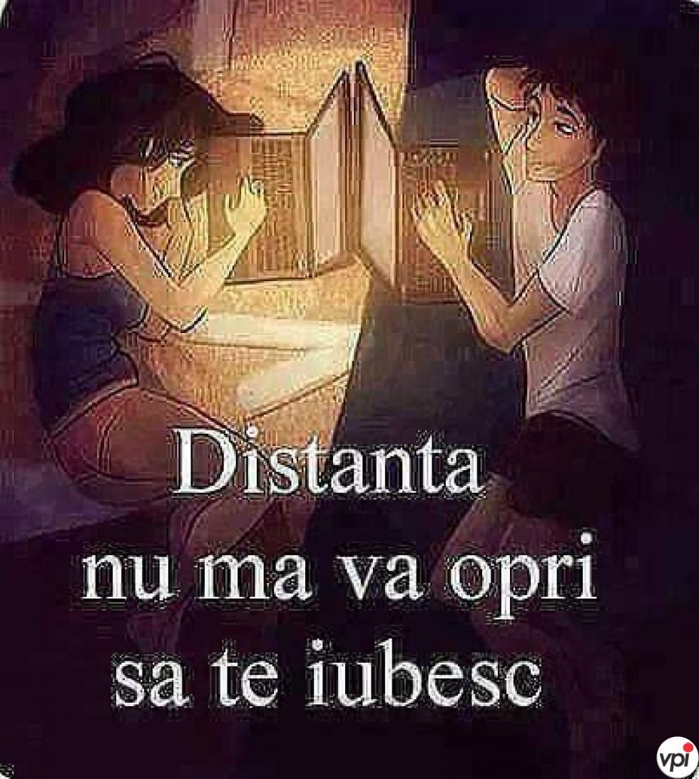 Te iubesc și la distanță!