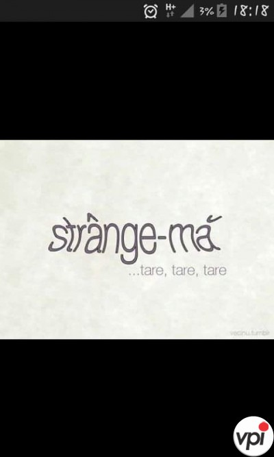 Strange-mă tare