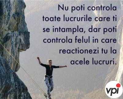 Nu poți controla totul