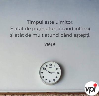 Cât de important e timpul