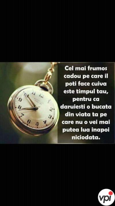 Timpul tău