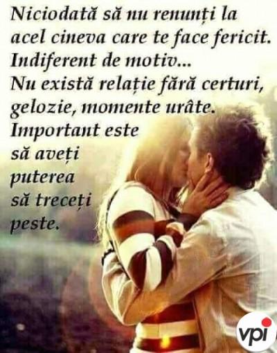 Important într-o relație