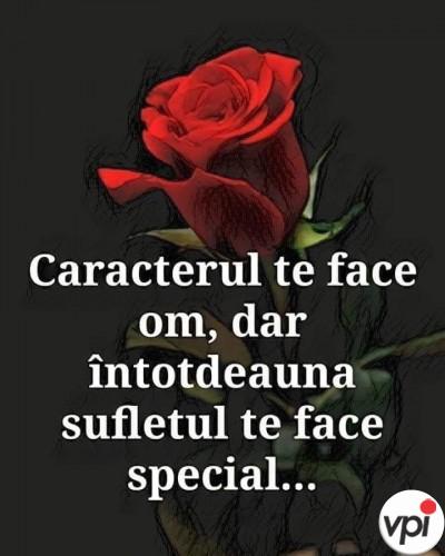Ce te face special