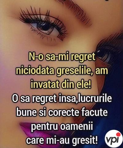 Ce o să regret