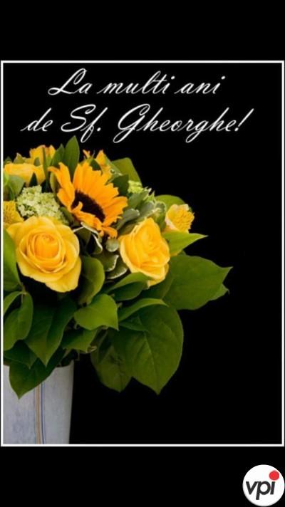 La mulți ani de Sfântul Gheorghe!