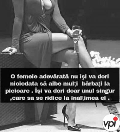Ce își dorește o femeie adevărată