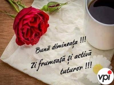 Bună dimineața la toți!