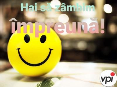 Hai să zâmbim împreună!