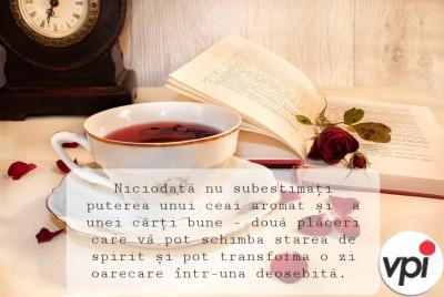 Un ceai aromat