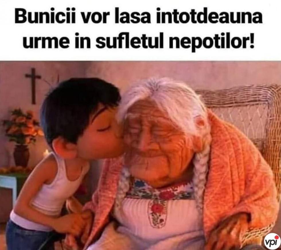 Bunicii vor lăsa urme în sufletul nepoților