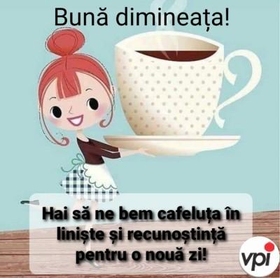 Hai să ne bem cafeluța în liniște!