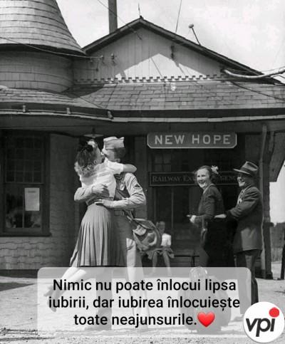 Nimic nu poate înlocui lipsa iubirii