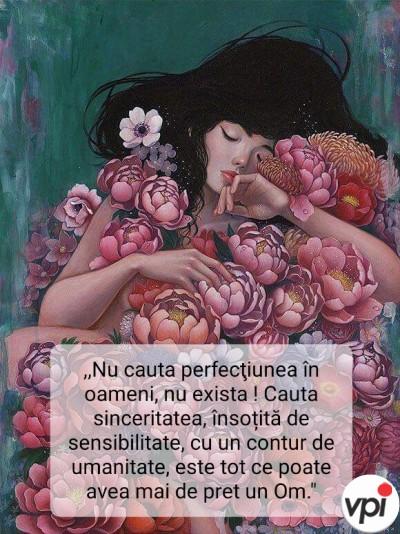 Nu căuta perfecțiunea în oameni