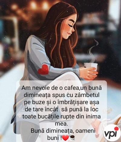 Am nevoie de o cafea