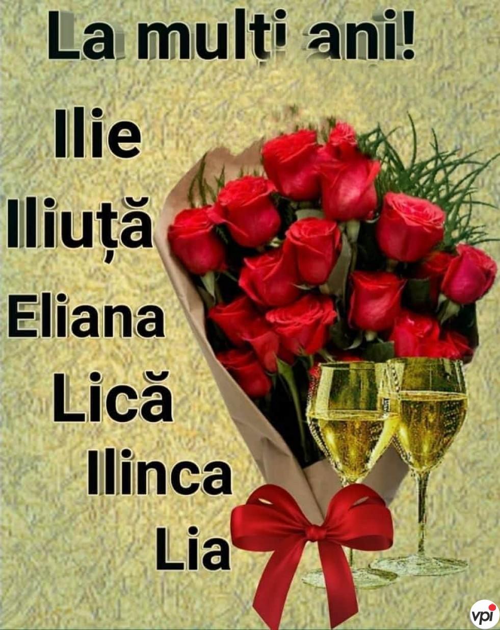La mulți ani, Ilie!