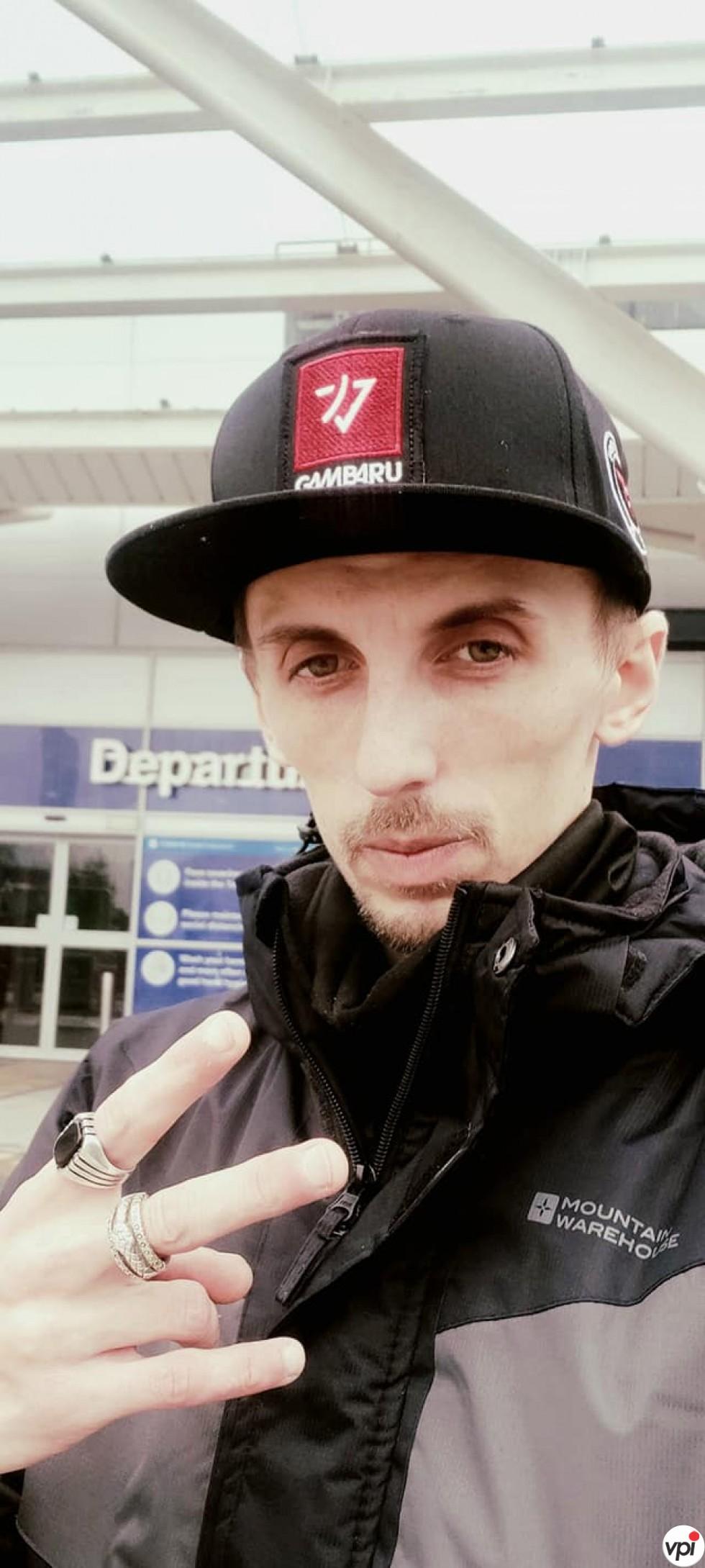 DASQ (DJ & Producer) in Birmingham Airport 5 Feb 2021
