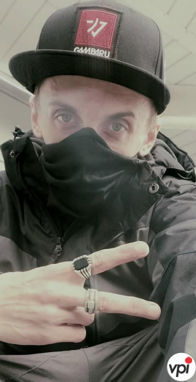 DASQ (DJ & Producer) in Birmingham Airport 5 Feb 2021