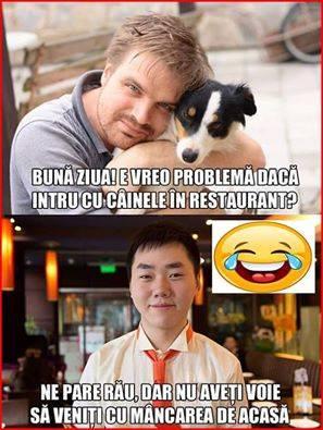 Mancare in restaurant