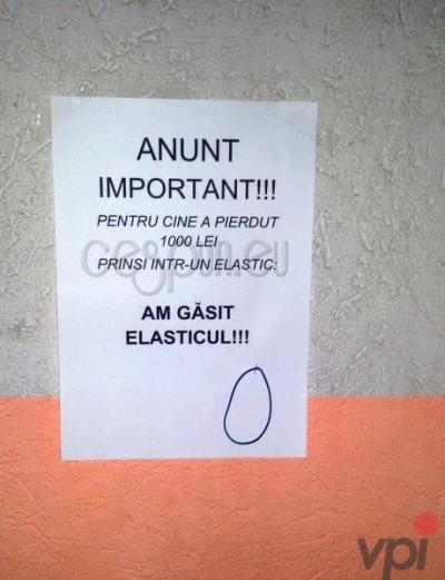 Anunt Important!
