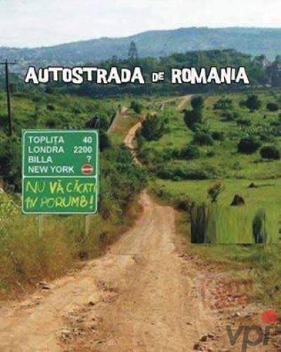 Autostrazile Romaniei