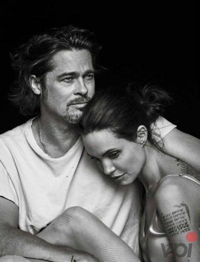 Brad Pitt despre sotia sa