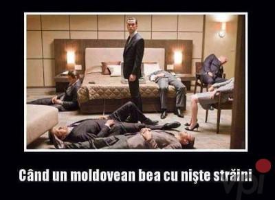 Cat de mult beau moldovenii