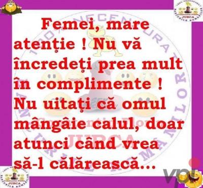 Complimente pentru femei