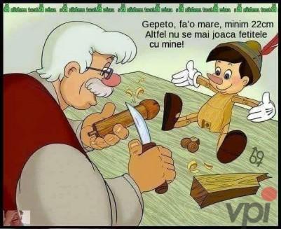 Cum a aparut Pinochio