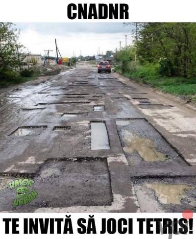 Cum arata drumurile din Romania