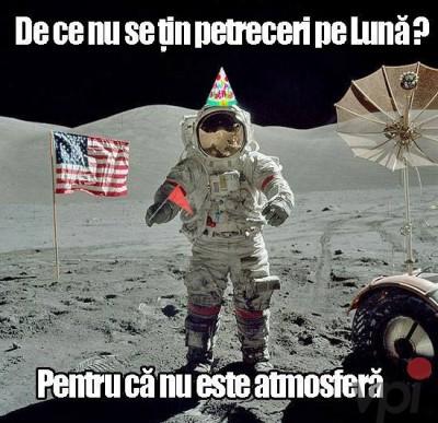 Cum este pe Luna