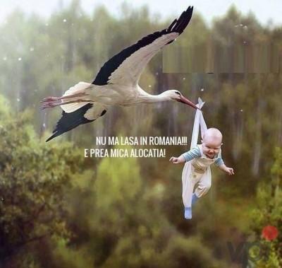 Cum se nasc copiii in Romania