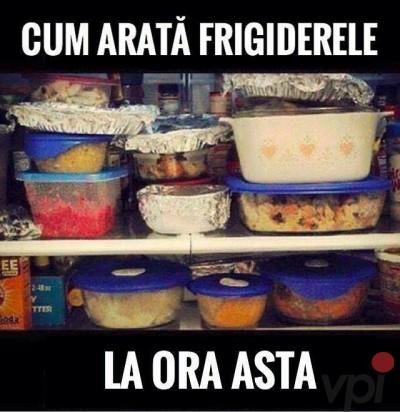 Cum sunt frigiderele de sarbatori