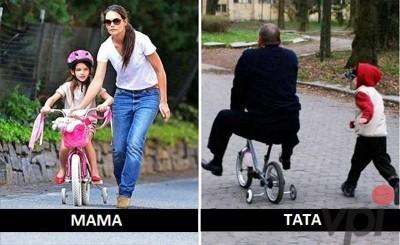 Cum sunt mamele si cum sunt tatii