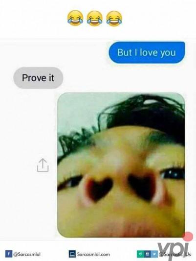 Dovada de iubire