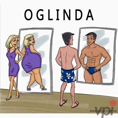 In oglinda