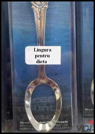 Lingura pentru dieta