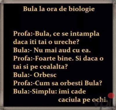 Ora de biologie