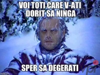 Pentru cei care vor sa ninga