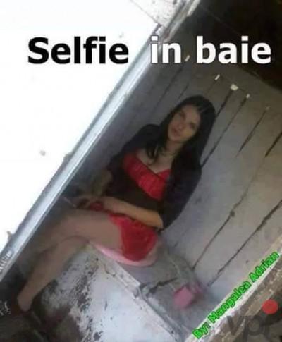 Selfie in baie