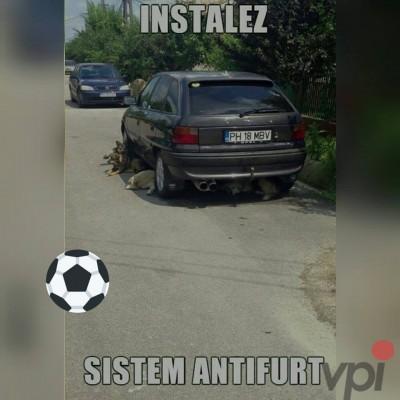 Sistem antifurt pentru masina