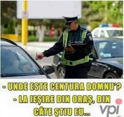 Soferul si politistul