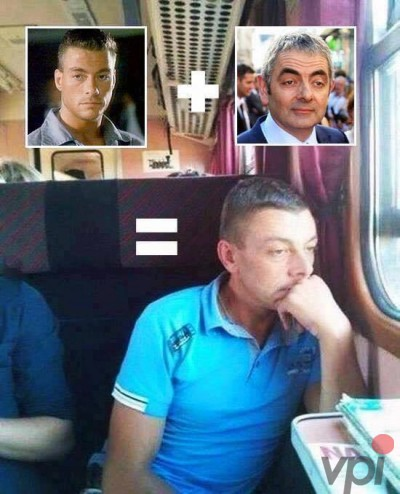 Van Damme+ Mr Bean