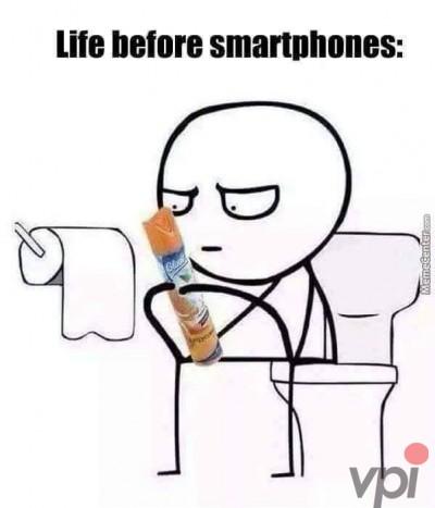 Viata inainte de Smartphone-uri